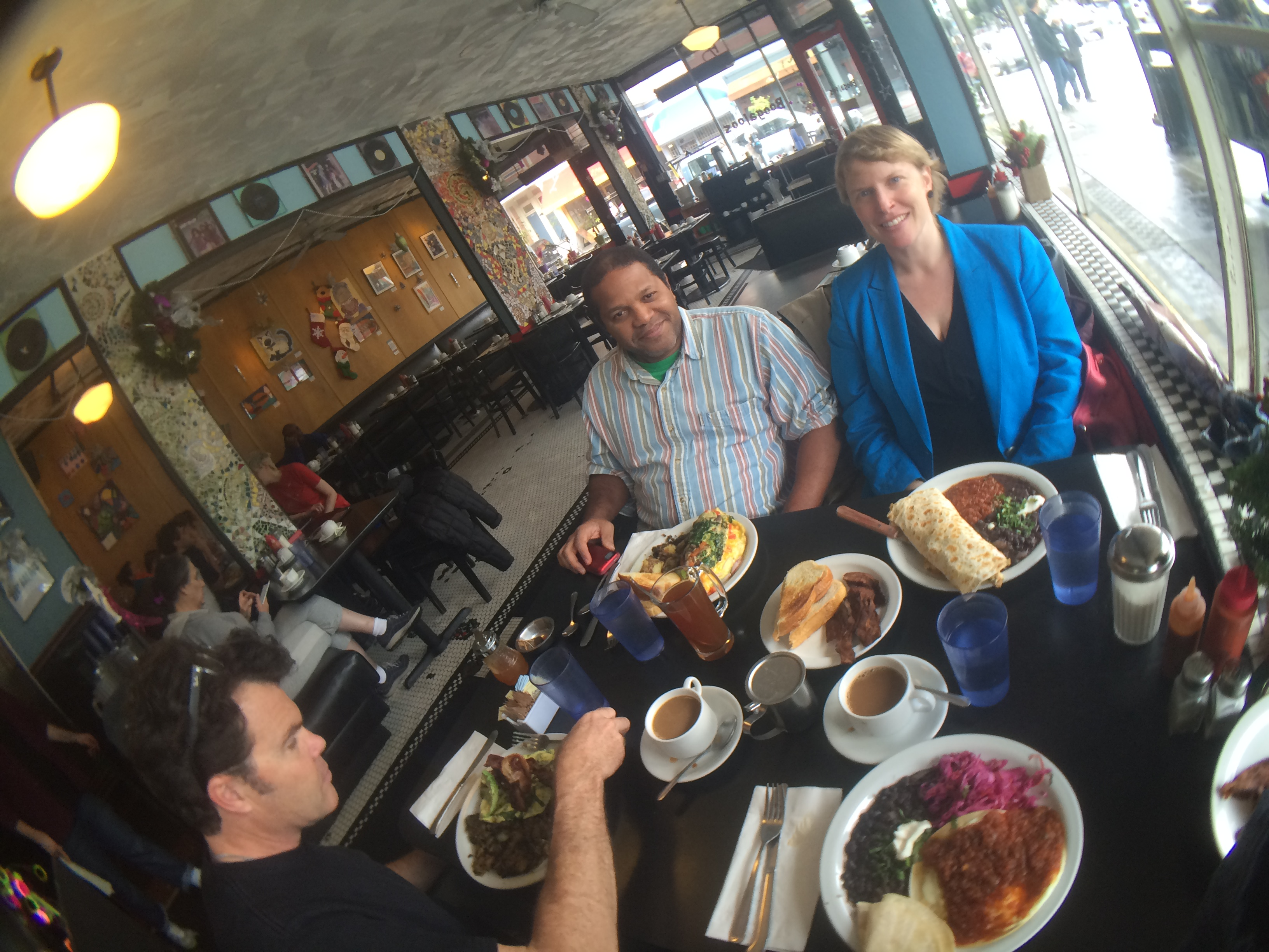 Russ, Evelio & Amy in Boogaloos, Mission, San Francisco