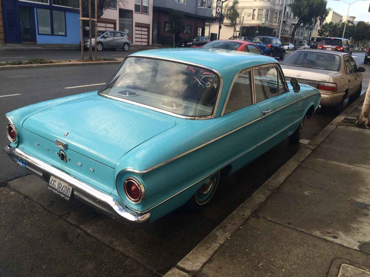 An old Ford Falcon in San Francisco