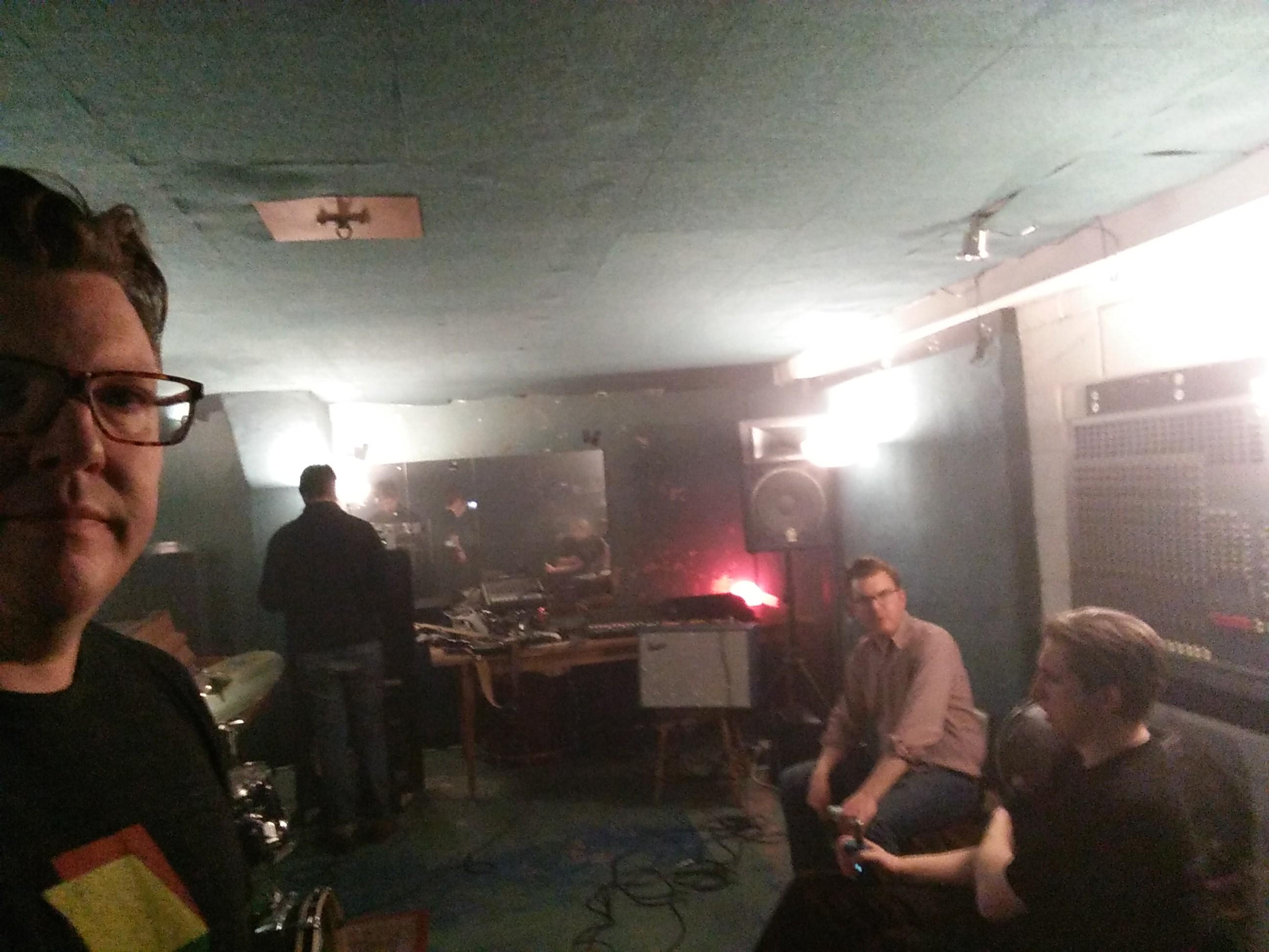 The Krill - rehearsal