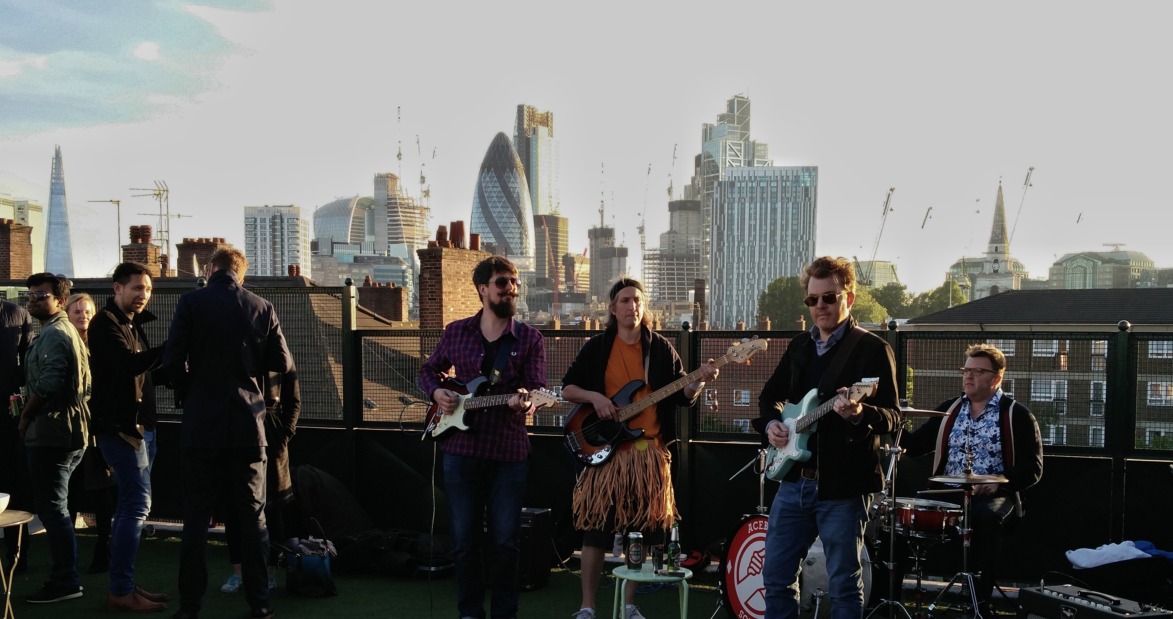 The Krill, Live in London at a Roof Party