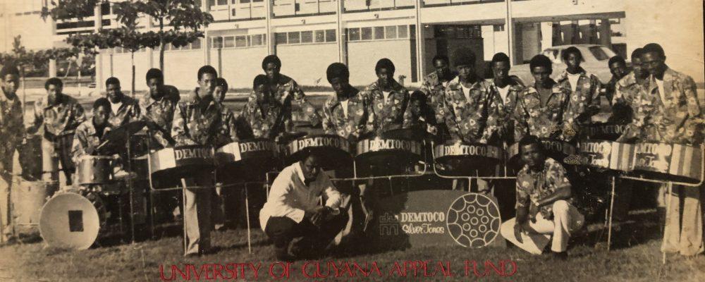 Guyana Steel Bands Concert 1973.