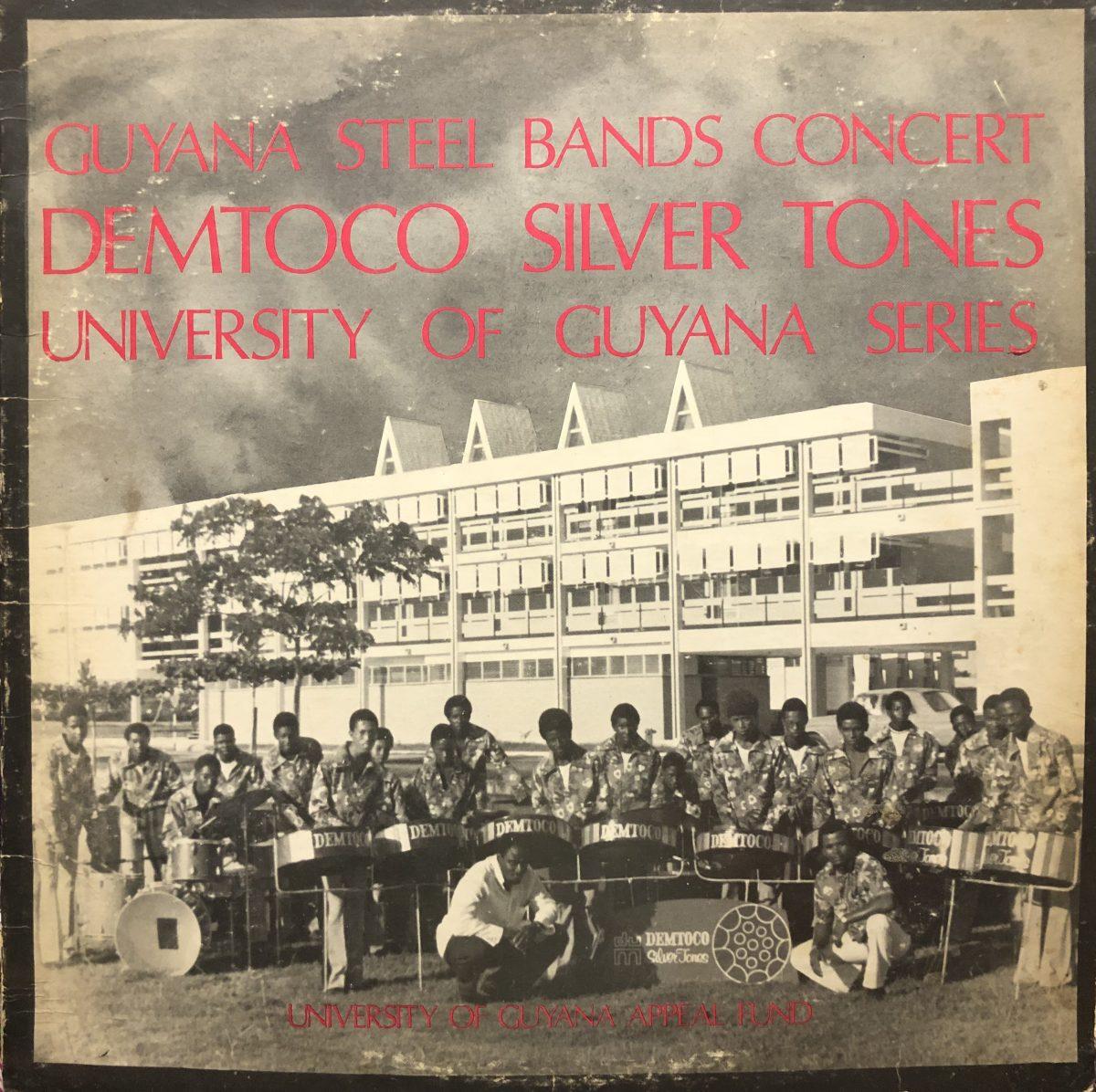 Demtoco Silver Tones - Guyana Steel Bands Concert 1973