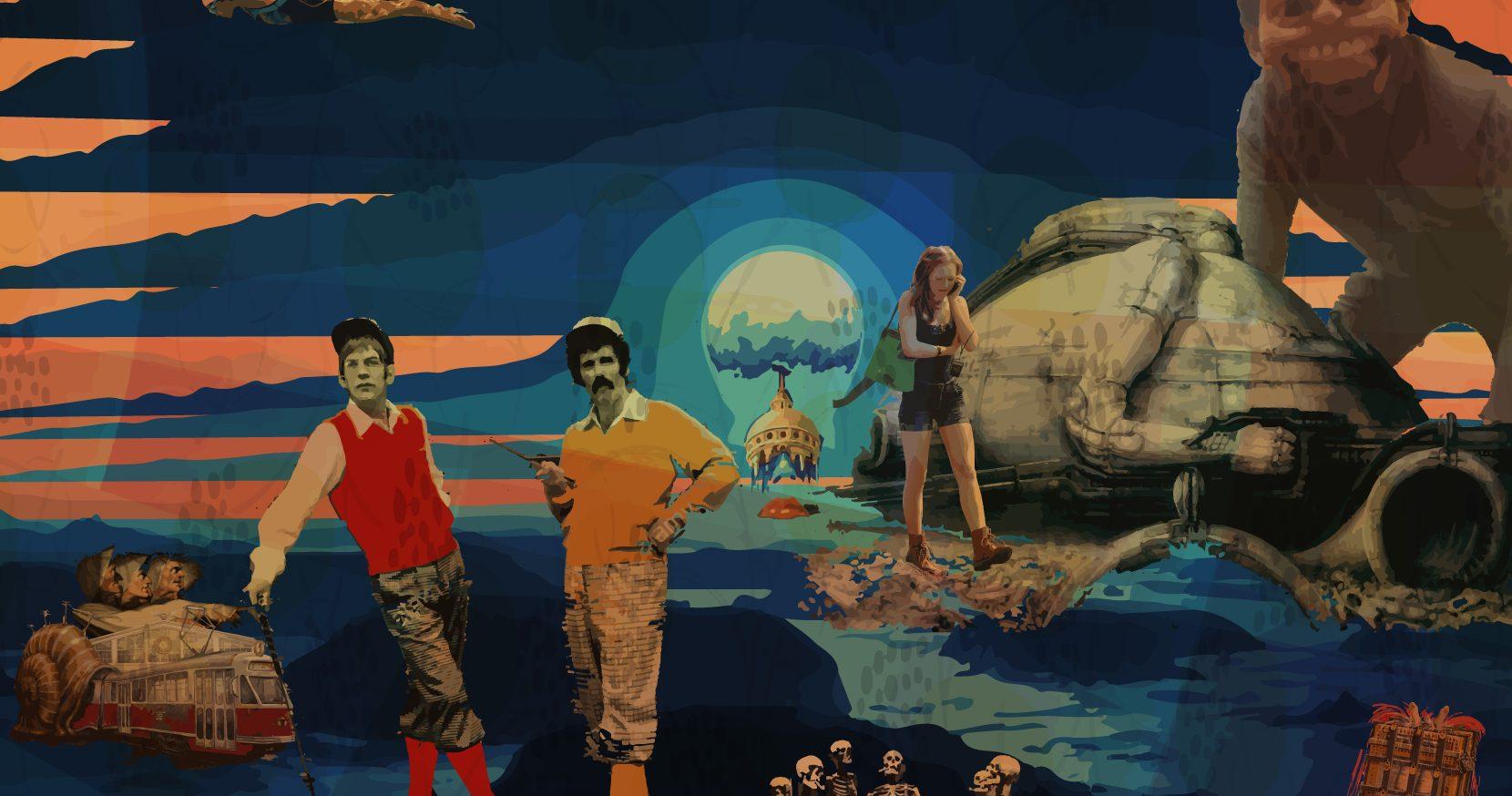 May Dune - The Krill artwork by Douglas Cameron (aka Rex Needles)
